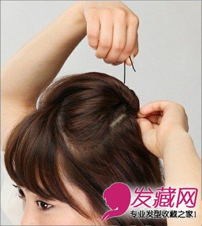 短发发型 > 齐肩短发怎么扎好看 女生齐肩短发发型(2)  导读:步骤1,首