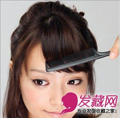 短发发型 > 齐肩短发怎么扎好看 女生齐肩短发发型(6)  导读:步骤5,从