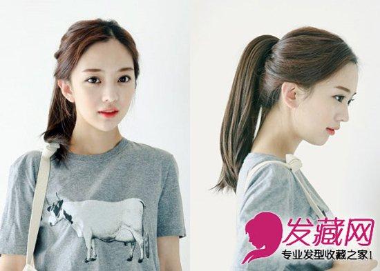 【图】2015夏季流行发型 韩式小清新发型_女生可爱_发