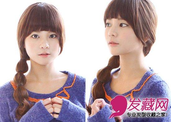 > 2015夏季流行发型 韩式小清新发型(4)  导读:第四款:长马尾 潮流