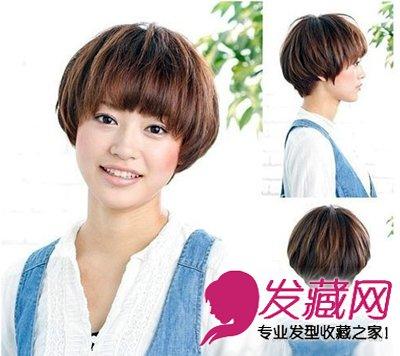 修颜中长发少不了 →圆脸最适合的发型你知道吗 赵丽颖圆脸发型图片