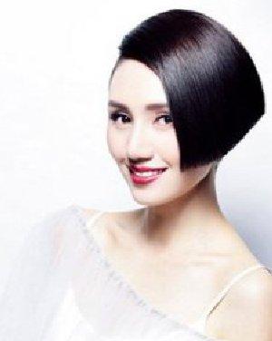 长发发型变短发发型的斜刘海卷发发型 打造不一样的美日期: 13-07图片