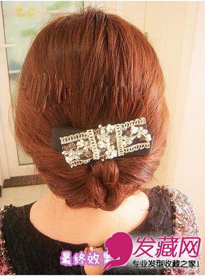长头发怎样扎好看 淑女气质韩式编发图解图片