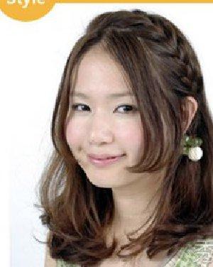 约会必备发型 最新韩国女生齐肩中长发推荐日期
