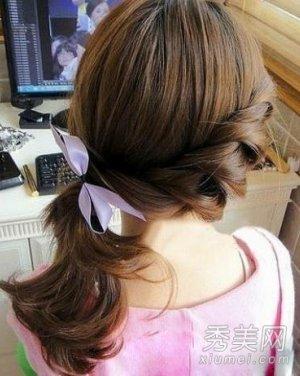 马尾辫使得额头前头发稀疏怎么办