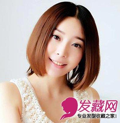 2013中短款直发发型_【图】中短发微微的烫卷发型大全 今年流行什么发型(2)_短发发型 ...