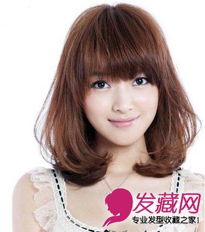 中短发微微的烫卷发型大全 今年流行什么发型(5)图片