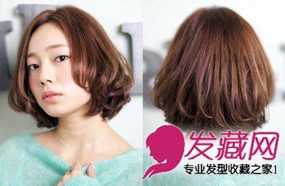 最新波波头短发发型图片 最in减龄造型(2)