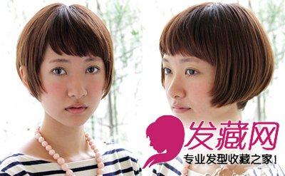 最新波波头短发发型图片 最in减龄造型(7)