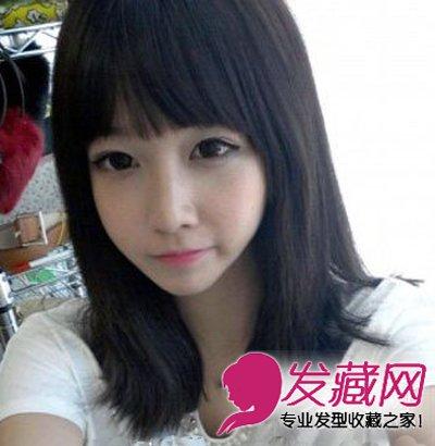 2015最新流行的学生发型 清纯又甜美(4)
