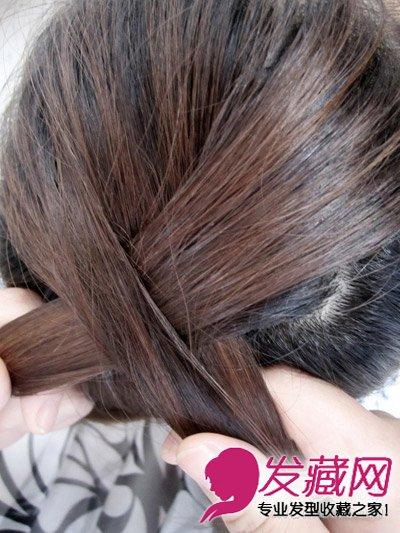 发型网 发型diy 编发教程 > 蜈蚣辫的编法图解 简单几步打造气质发型