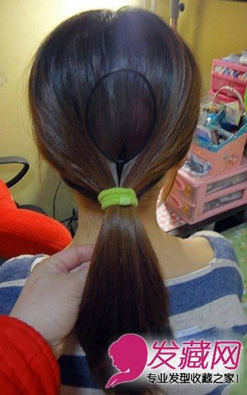 简单盘发图解步骤打造漂亮发 →螺旋夹盘发器怎么用?