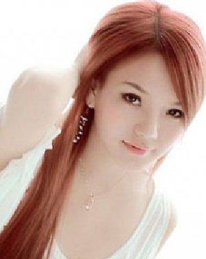 大圆脸直发发型设计_女直发发型设计