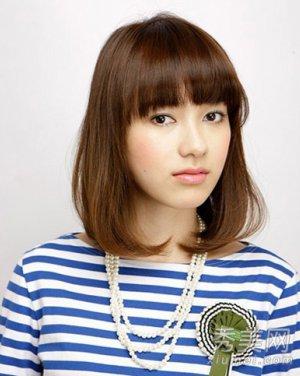 韩国长卷发发型