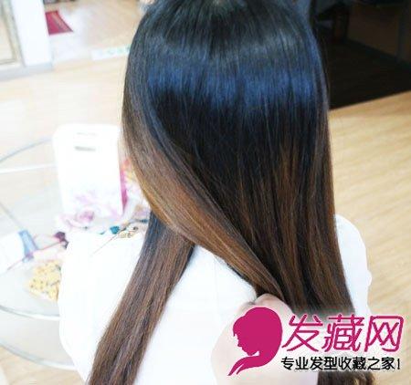 【图】简单鱼骨辫编发 温婉淑女的气质(3)_马尾发型图片