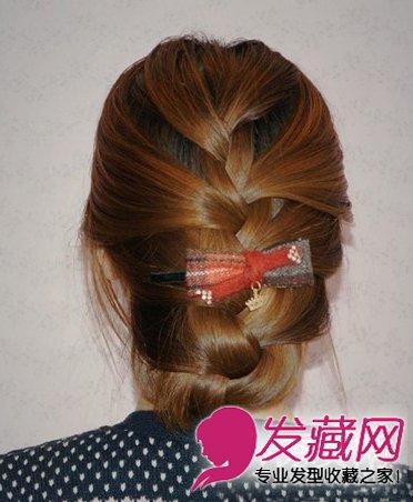 夏季编发发型大全 →马尾辫&包包头 4款可爱简单编发发型 →编发发髻&
