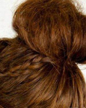 最新花苞头发型扎法 打造专属可爱发型