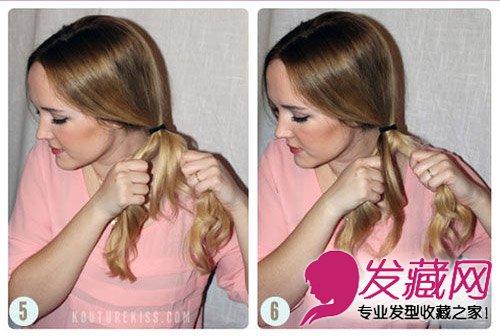 儿童简单蜈蚣辫编发型扎法步骤