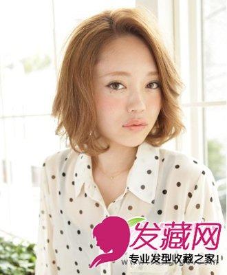 清凉女生短发造型 可爱甜美又个性