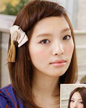头发扭卷成如图的造型 教你diy长发变短发日期: 13-08-17 点击: 196图片