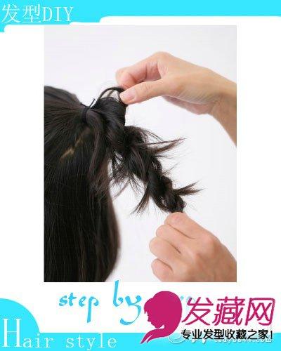 适合小女孩扎的发型图片; 2款女童扎发diy 打造可爱小公主(2);