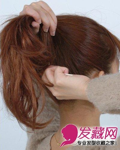 丸子头的扎法图解 配高领毛衣或围巾美炸了 →俏皮可爱的丸子头图片
