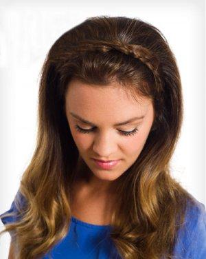 最新小女孩发型图片 打造可爱小公主日期图片