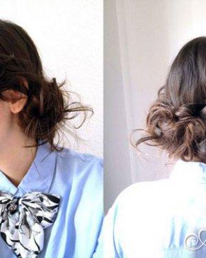 深棕色的烫发发型 蓬松设计更显俏皮可爱日期: 13-08-17 点击: 1 深图片