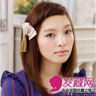 【图】夏日甜蜜可爱发型diy发型图片