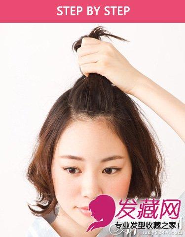 头发少的女生不太适合长直发 实验清新的短发发型(2)