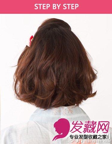 头发少的女生不太适合长直发 实验清新的短发发型(7)