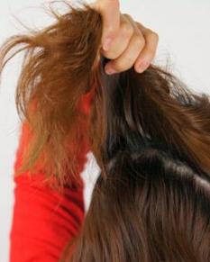 甜蜜恬静气质韩式花苞头扎发发型