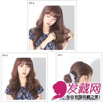 韩国荷叶头发型图片,蓬松空气感发型轻巧可 →浪漫迷人的长发波浪图片