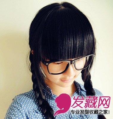 马尾辫的各种扎法图 秋冬美丽发型设计 →蓬松高马尾辫扎法图解