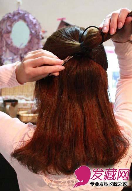 长发中长发mm必看 →齐肩发型扎法,扎发后美的不止一点点 →中长发