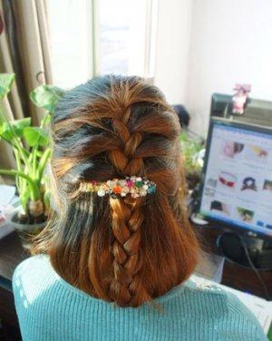 漂亮好看的盘发发型 最招桃花的淑女发型