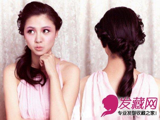 发型网 女生发型 马尾发型 > 最新编发大全 扭转马尾辫发型扎法  导读图片