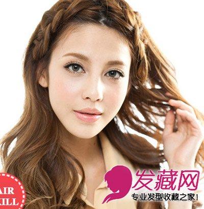 怎么用头发钩 →2款编发教程长短发都适合 刘海编发发型 →夏季鱼骨