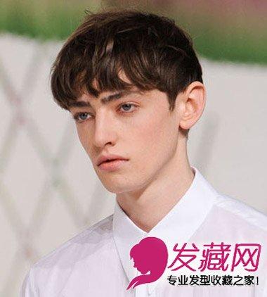 吴亦凡白发发型 少年你黑发更帅 →彰显型男气质的男生短发发型 烫图片