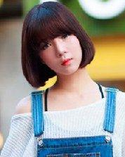 最新女生齐刘海诚博娱乐平台发型 让你秋季优雅不重样