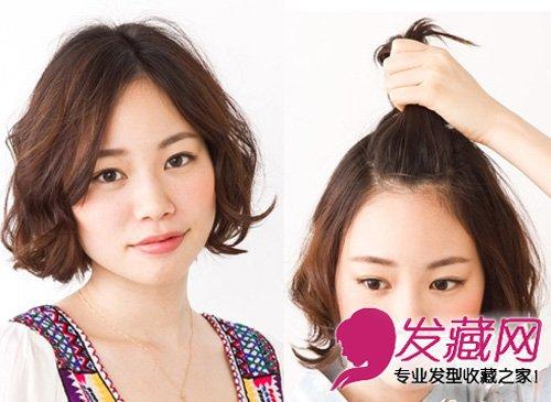 春天头发怎么扎好看 简单发型快速完成 →露额头侧编辫子发型 展现