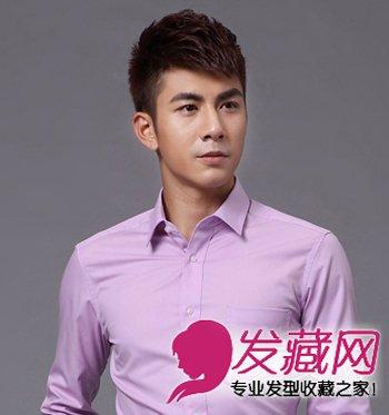 男士超短碎发发型图片 精英男魅力短发发型(5)