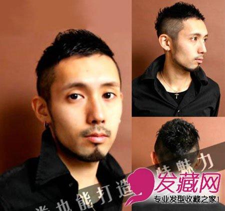最新男士短发发型 成熟人士的选图片