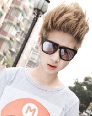 型男范十足的男生飞机头发型 棕色系短发帅气日期: 13-11-07 点击