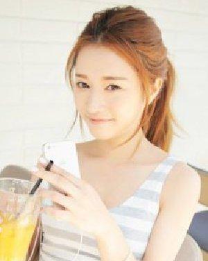 韩系女学生高马尾辫发型 清爽可爱小清新