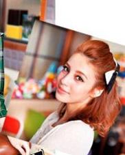 女生中长发怎么扎 韩式半扎发甜美升级