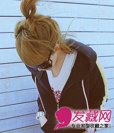 韩式双马尾发型显脸小 韩式齐刘海扎发最瘦脸(3)