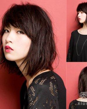 菱形脸适合发型 蓬松短卷发发型日期: 13-10-25 点击: 2109 不同于