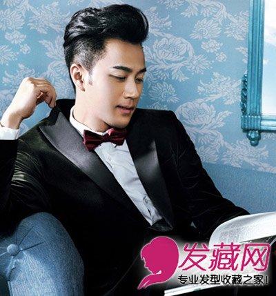 温润绅士背头 →靳东王凯  欢乐颂王凯发型叫什么 →超时髦男士发型图片