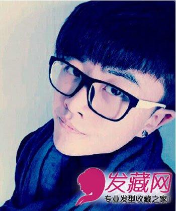 朱亚文发型 无刘海短发显硬汉本色 →9款男士短发图片 可爱的男生波波